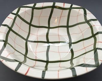 Midwinter Homeweave Green Serving Bowl
