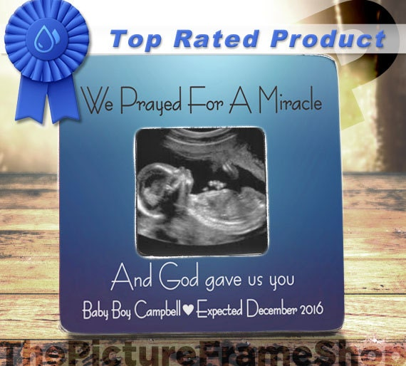 Amazing baby ultrasound picture frame image collection custom pregnancy expecting ultrasound announcement gift frame negle Images