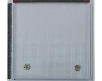 """Sale! Tim Holtz Stamp Platform - 9.5""""x11.5"""" - For Precision stamping with Rubber and Clear Stamps"""