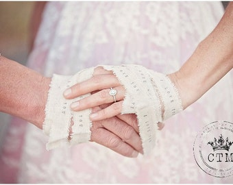 Personalized Hand Binding Cord . hand binding ceremony . hand fasting cord . custom hand binding . handbinding . handfasting cord