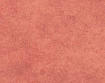 Shadow Play Terra Cotta Tonal Fabric by Maywood Studio #513 CXR - Dark Coral Blender Fabric - Terracotta Tonal Cotton Fabric - By the Yard