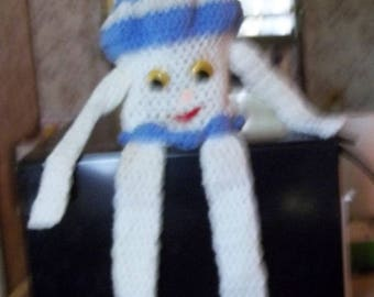 SHIPS FREE - Crochet Cozy Vintage Collectible Kitchen Bathroom Utensil Cover ~3misc
