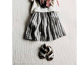 Japanese Simple Style Clothes for Girl & Boy, Japanese Sewing Pattern Book for Casual Dress, Easy Sewing Tutorial, Pants, Tops, Skirt, B1993