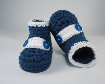 Crochet Baby booties, Baby shoes, Custom baby shoes, fashion baby shoes, baby accessories - For him and for her