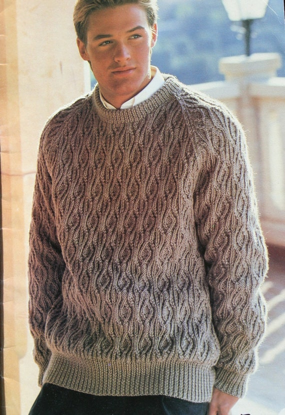 Knitting Patterns Men Sweaters His Favourite Knits Beehive