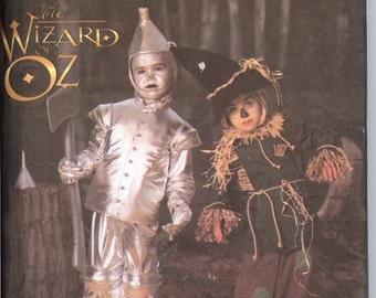 Simplicity 5414    Wizard of OZ Child's Costumes       ID358