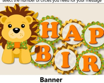 Safari birthday Etsy