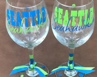 Seattle Seahawks, Sports Bar Glassware, Football, Go Seahawks, Seahawks Gifts