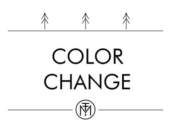 Color and tagline change Logo Add-On