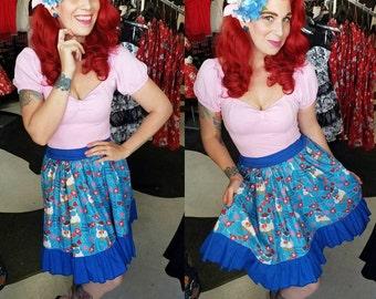 Level 4 Lolita Pinup Rockabilly 100% cotton 1/2 elastic Skirt Grab Bag Mystery Box