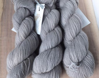 Soft Fog - 100% Hand Dyed Cashmere Lace Yarn