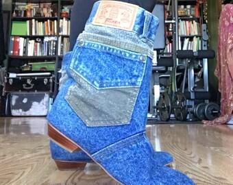 Fierra jean boots