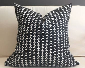 Pillow Cover, Black and White Pillow Cover, NOAH