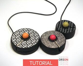 Orsons Box clasp polymer clay Original tutorial e-book