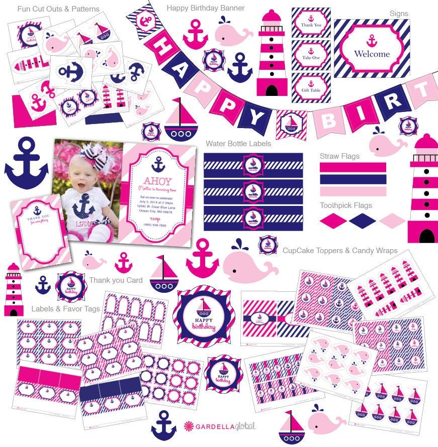 Invitación náutica invitación de cumpleaños náutico náutica
