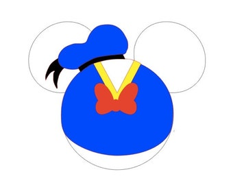 Donald Duck Iron-on Applique