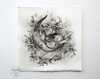 Otter - Original Painting