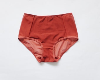 Hipster Panties. Autumn mood. See through panties. English red. Perfect for women. All sizes.