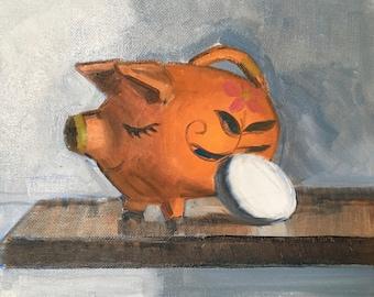 My Piggy Bank and an Egg