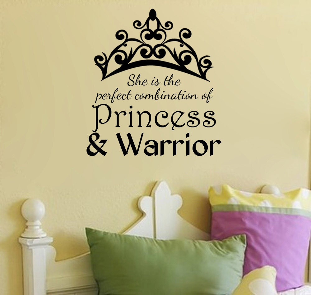 She Is the Perfect Combination of Princess and Warrior Wall