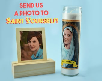 The Sister Custom Prayer Candle - Saint Candle for Her - Hilarious Birthday Gift - Funny Gift for Her - Sister Birthday Gift - Nun Candle