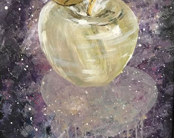 Newton's Apple: Original Painting