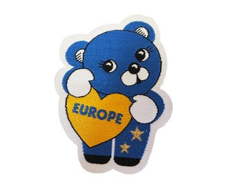 Europe Bear Iron-on patch