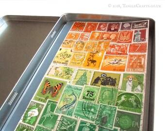 Travel Journal in Storage Tin - choice of 3 designs
