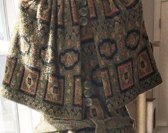 1920's OOAK Sweater Coat/Shawl