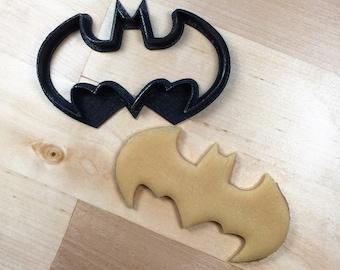 Batman cookie cutter 4 1/2 inches wide 3D printed