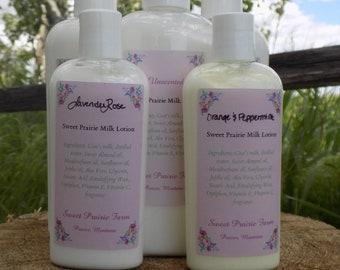 Lavender Rose Goat Milk Lotion