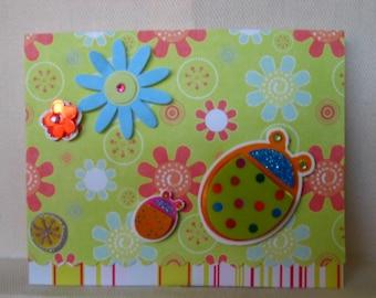 Lucky Ladybug Note Card