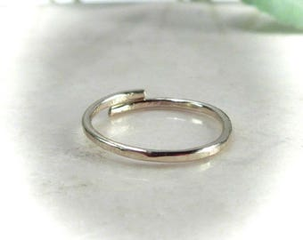 Toe Rings Gold Hammered Adjustable - Stacking Toe Rings, Adjustable Toe Ring, Gold Toe Ring, Knuckle Ring, Hammered Toe, Midi Ring, Yoga Toe