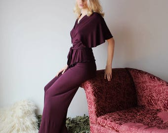 womens bamboo wrap style bed jacket or cardigan - NOUVEAU bamboo sleepwear range - made to order