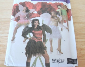 Simplicity 4902 FAIRY Costume for Adults Uncut Sizes 6 to 12