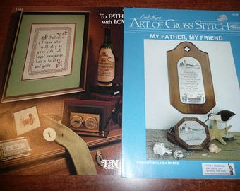 Vintage Father Themed Cross Stitch Patterns