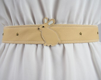 Rabbit Belt ~ Handmade ~ Only 1 Left! ~ Bunny