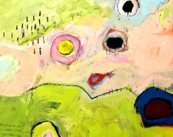 Original Abstract Painting, Home decor, modern art