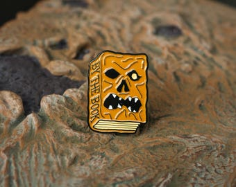 By the Book Pin - Evil Dead Pin - Necronomicon - Army of Darkness - Horror Pin - Book of the Dead - Horror Movie Pin - Ash Williams - Retro