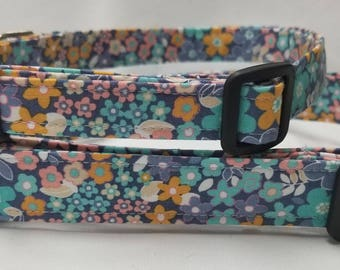 Pastel Floral -Dog Collar