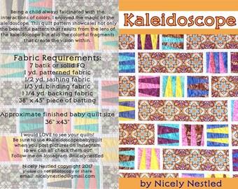 Kaleidoscope Baby Quilt Pattern