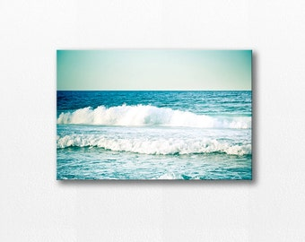 beach canvas print nautical photography canvas coastal beach decor ocean canvas beach photography large canvas art beach house decor teal