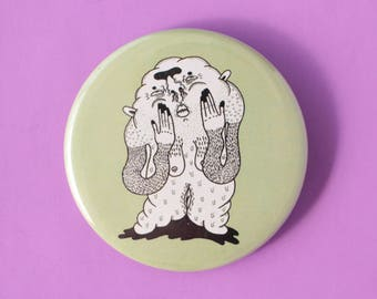 Ooze Monster Button