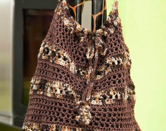 Crocheted XXL handbag, bag