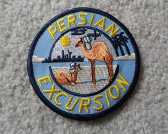 Persian Excursion  Patch - FREE Shipping