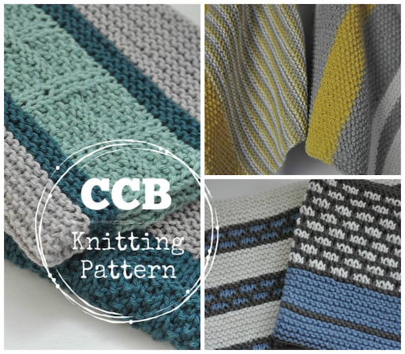 Kitchen Dish Towel Pattern Combo Set Of 6 Dish Towel Knitting