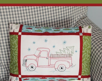 Embroidery Pattern~Vintage Holiday