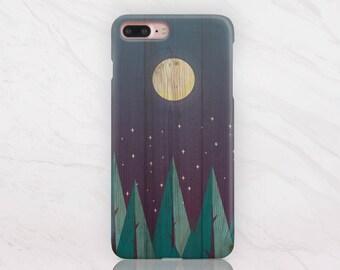 Nature iPhone Case Wood iPhone X Case iPhone 8 Plus Case Samsung Galaxy S8 Case Hard Plastic Case iPhone 7 Case Protective Case 1 RD1513