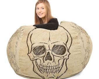 Vintage Skull Beanbag chairs