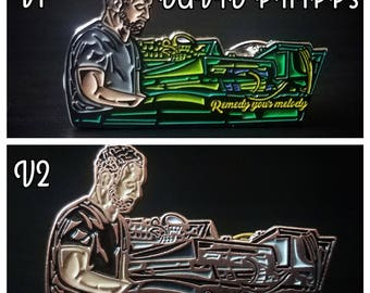 David Phipps - Music, Us pin SET